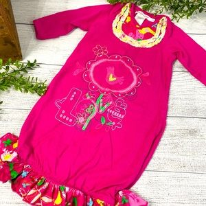 Baby Nay Boho Themed Pink Sleep Sack NB